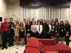 High School and Middle School Students Attend NYS CLSA Conference