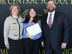 Board of Education Recognition Event