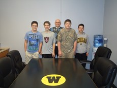 Windsor Technology Students Refinish Table