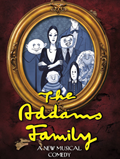 Image of Addams Family musical flyer