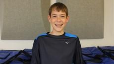 Zach Burpee Wins NJHS Outstanding Achievement Award