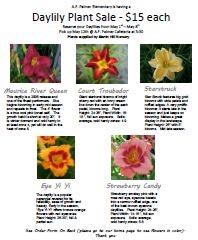 Image of Plant Sale Flyer