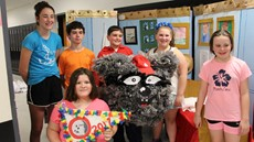 Picture of the Odyssey of the Mind Team