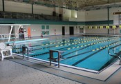 Photo of the pool at Windsor High School