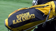 Windsor Black Knights Golf Bag
