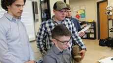 Kieran Horton, Zach Adornato, Casey Hull and Deemer Decker