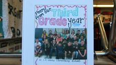 Book cover with class picture of 3rd grade students