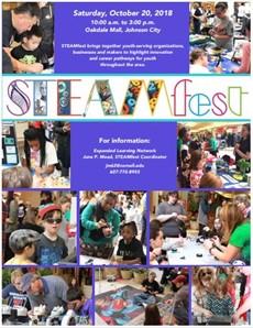 STEAMFest 2018 flyer