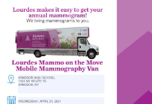 Mammography Van Flyer