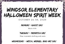 Halloween Spirit Week Flyer