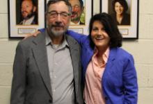 Steve Herz and Dr. Darlene Unger