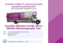 Mammography Van Flyer