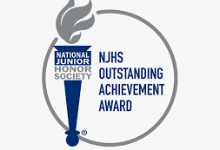 NJHS Outstanding Achievement Award logo