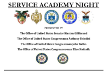 Service Academy Night Flyer