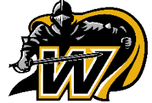 Windsor Black Knights Athletic Logo