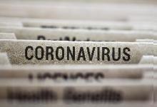 Coronoavirus folder tab