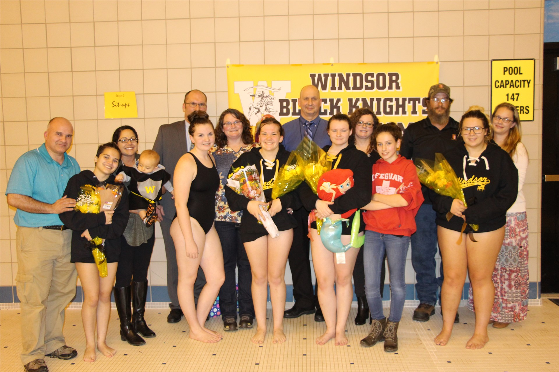 Swimming & Diving Seniors and Parents