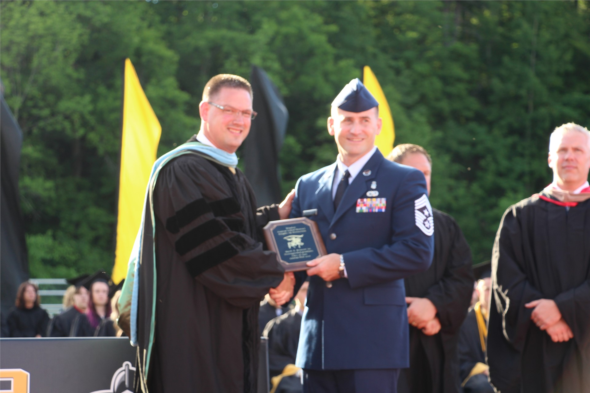 Chief Master Sergeant Mark A. Brown '90