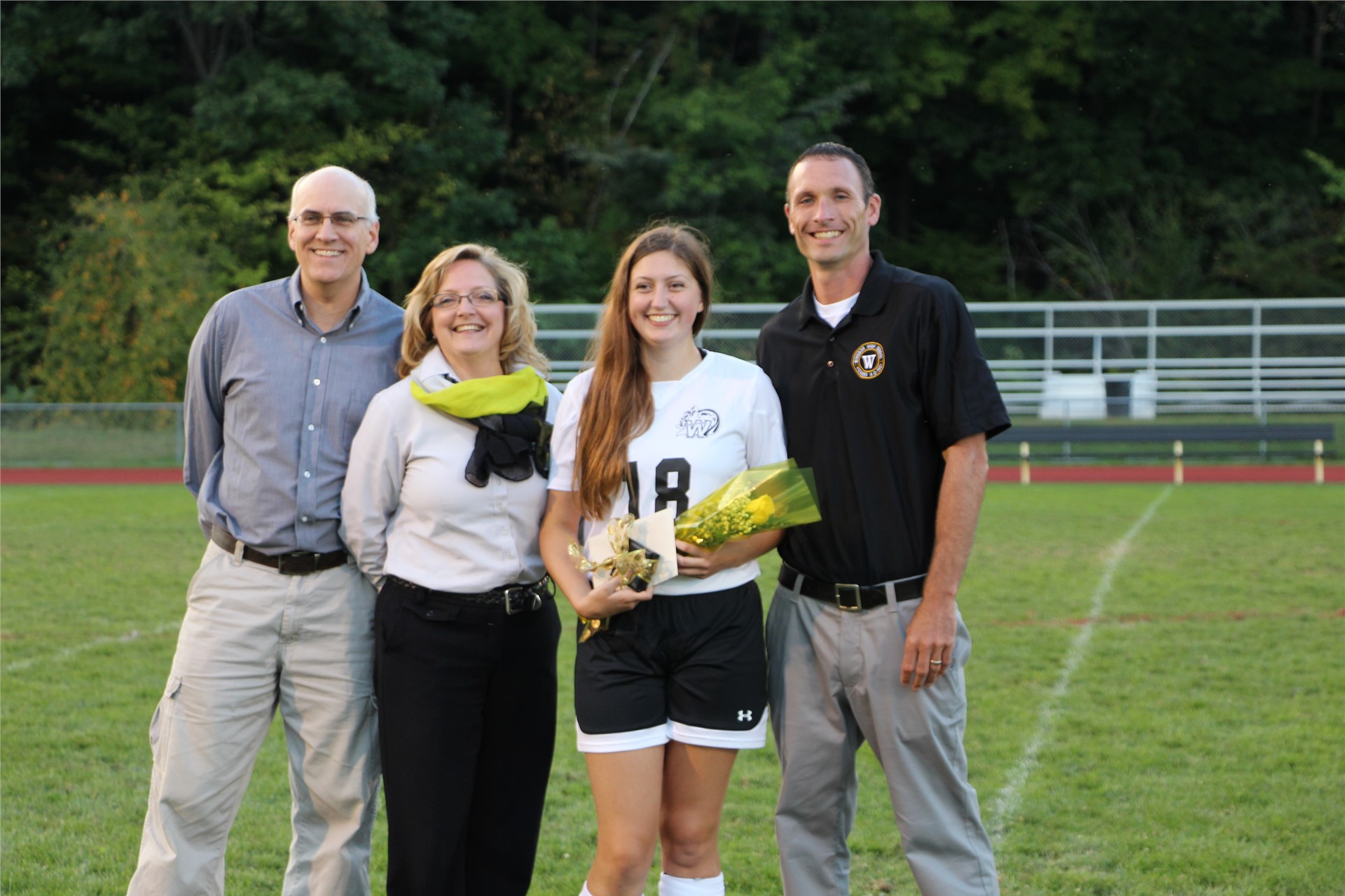Girls Soccer Senior Taylor Kibbler