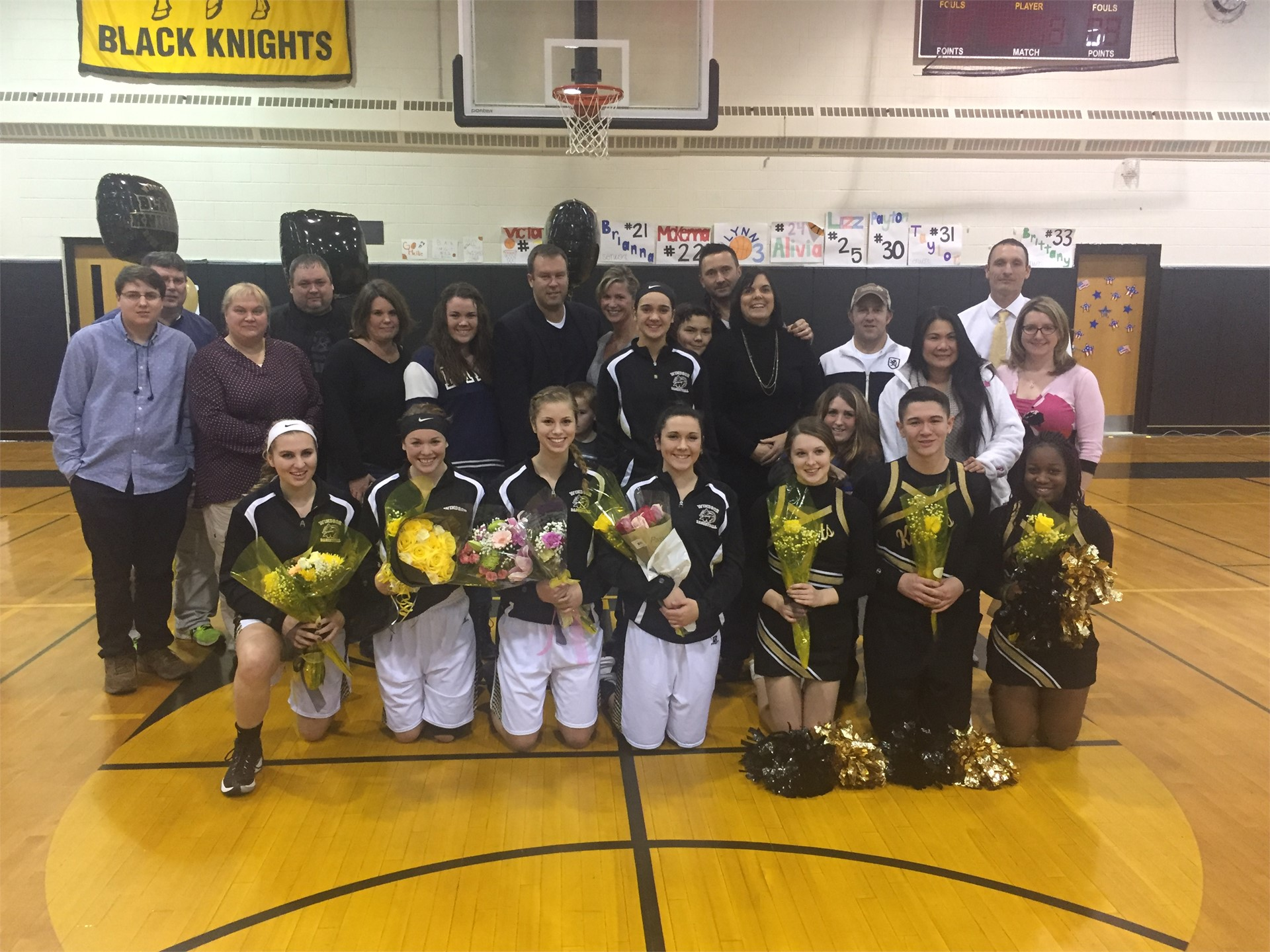 Girls Basketball Seniors