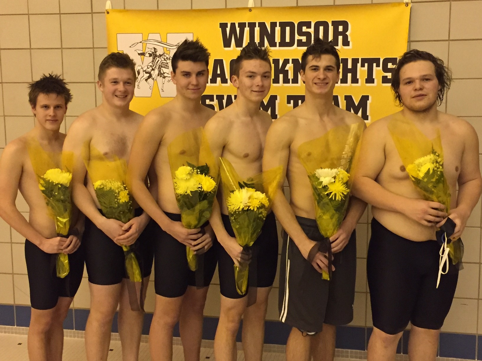 Boys Swimming Seniors