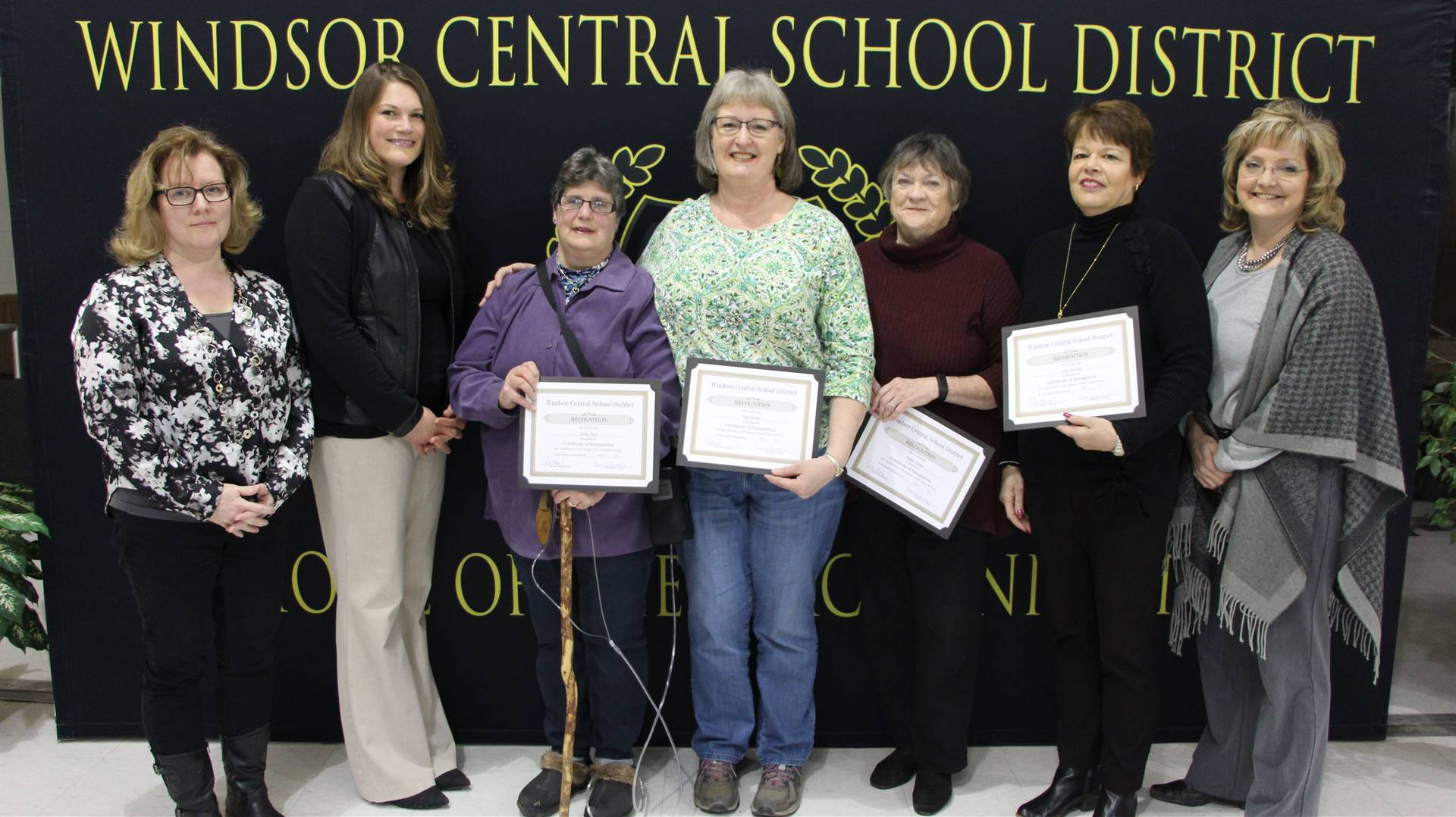 Windsor Garden Group – Corky Mott, Sue Rambo, Sue Balchikonis, Lynn Klumpp and Peggy Colosi
