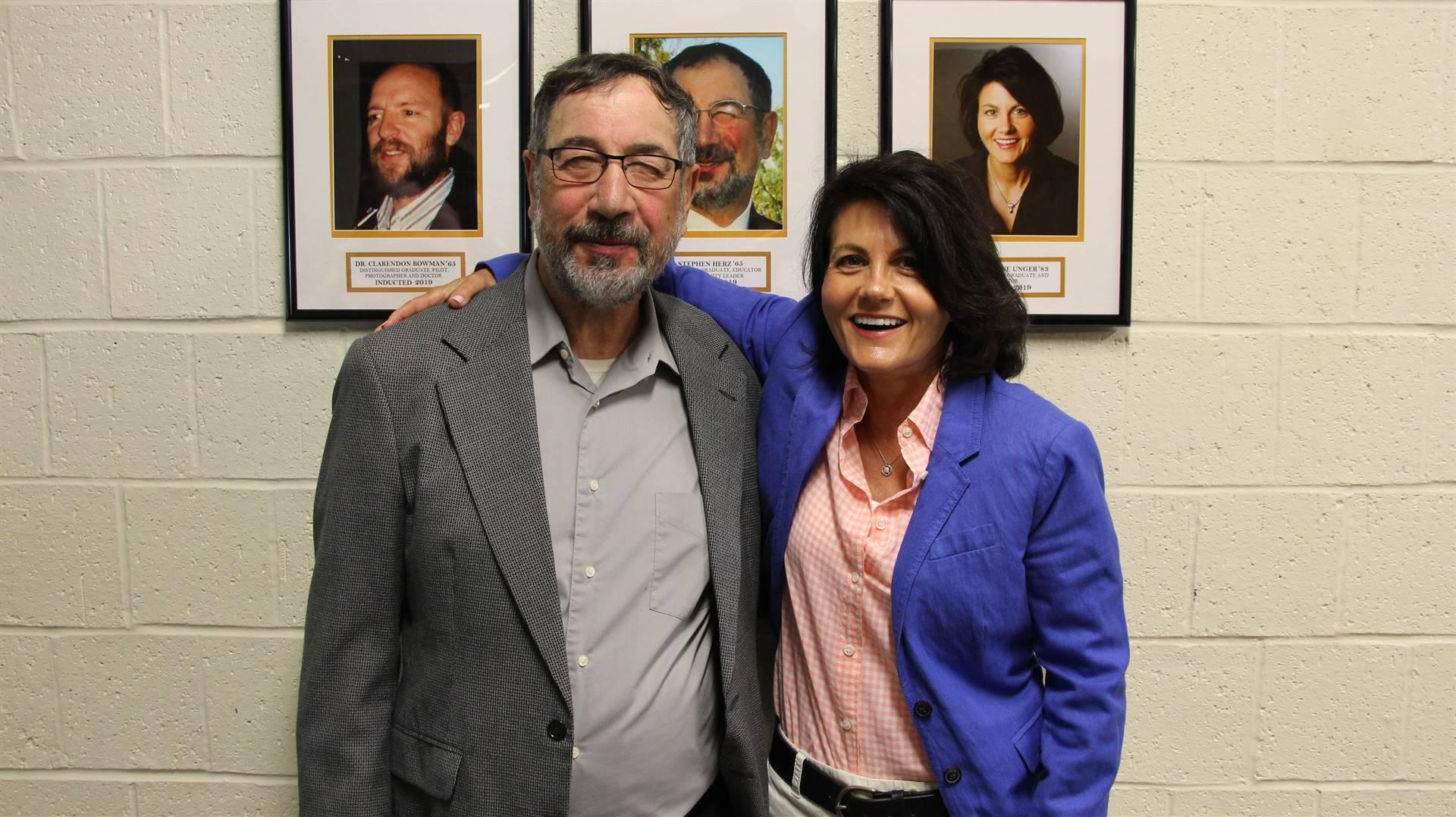 Stephen Herz & Dr. Darlene Unger