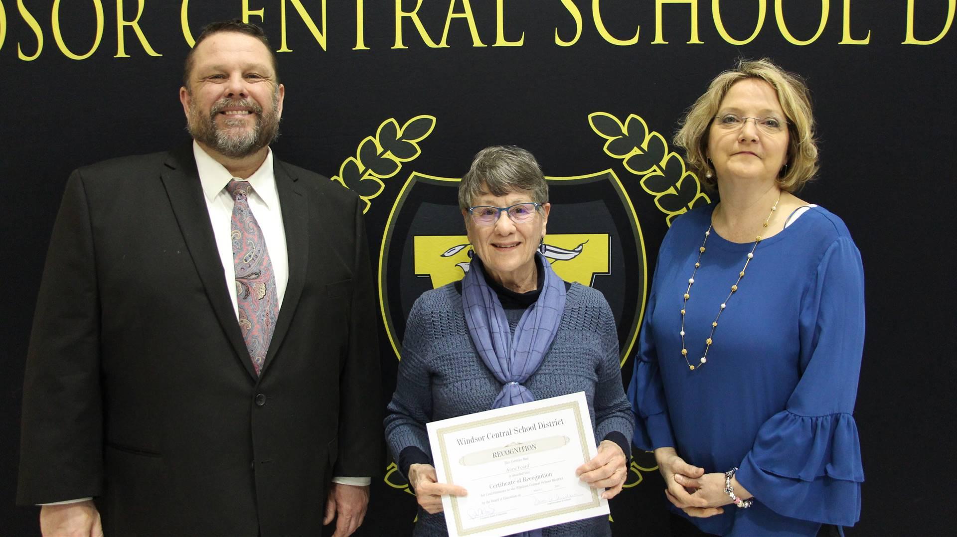 Pete Nowacki,  Anne Foard, & Margo Kibbler